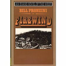 FIREWIND Bill Pronzini 1989 HC DJ Evens P2