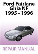 FORD FAIRLANE NF Series REPAIR MANUAL: 1995-1996