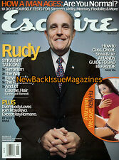 Esquire 5/03,Rudy Giuliani,May 2003,NEW