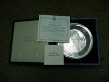 Gerald Ford Official 1974 G. R. Ford Inaugural Sterling Silver Plate