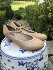 STELLE 1.5'' Character Dance Shoes for Womens Girls, Beige, Size 5