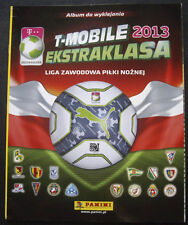 100% COMPLETED PANINI POLAND EKSTRAKLASA 2013 STICKER SET + NEW EMPTY ALBUM
