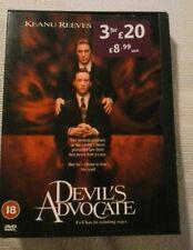 Devil's Advocate (DVD) very good condition.Al pacino.