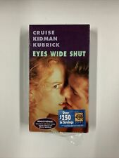 Eyes Wide Shut (Vhs, 2000, Collectors Edition)