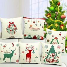 """Set of 6 Christmas theme printed cushion cover Size 12x12"""" Free Shipping"""