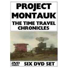 Project Montauk Philadelphia experiment 6 DVD's Einstein Time Travel Tesla Warp
