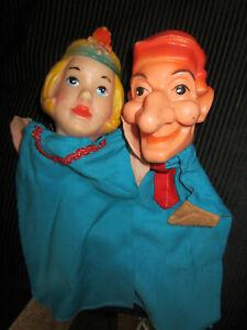 2 Handpuppen Kasper  und Prinzessin
