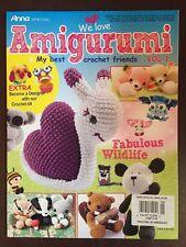 We Love Amigurumi Fabulous Wildlife Crochet Vol. 1 Knit 2016 FREE SHIPPING