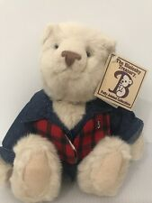 Bialosky Bear Fisherman Charlie Vintage 1995 treasury collectible bear 9� New