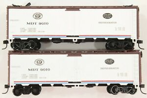 HO 2 Athearn New York Central / Merchant's Despatch 40ft Steel Ice Refrigerators
