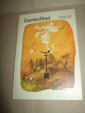 Fibel da giardino-un libro di occupazione F. Bambini, 1977,ddr - libro di testo, immagine. S. testo