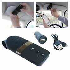 Car Bluetooth Hands Free Kit - 10m Range, A2DP Portable Speaker, USB, 12V Plug