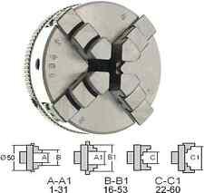 229004 GG-Tools Vierbackenfutter Drehfutter 50mm für EMCO Unimat SL