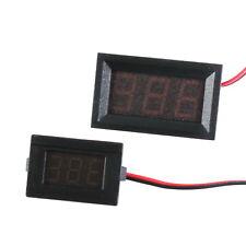 LED Spannungsanzeige Einbau Voltmeter 6-90V !Eingebaute Spannungsversorgung