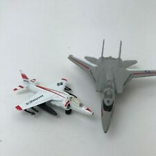 Diecast set 2 Airplanes Fighter Jets Military marines Planes Maisto Matchbox