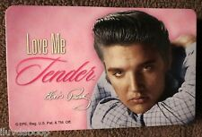 ELVIS Love Me Tender Collectible Playing Cards