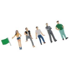 Hand Painted Miniature Scenario Classic Figures Figurine Layout Table Green
