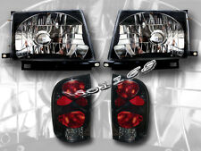 97 98 99 00 Toyota Tacoma 2WD 98-00 4WD Headlights & Tail Lights Combo New
