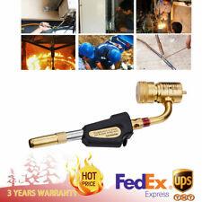Gas Self Ignition Turbine Torch Brazing Soldering Welding Plumbing Gun Home Tool