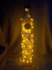 CIROC Pineapple Vodka Liquor Bottle Light w/ 100 Yellow Motion LEDs - Great Gift