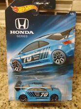 Hot Wheels Walmart Honda Series Blue Honda Civic Si