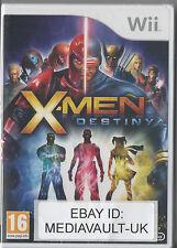 X-MEN DESTINY - WII GAME - BRAND NEW SEALED - UK RELEASE - XMEN