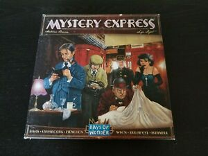 Mystery Express Board Game -99% Complete, VGC- Days of Wonder Orient Express