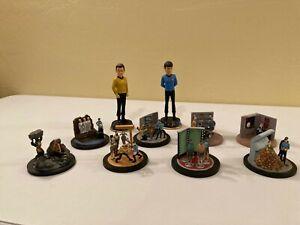 Star Trek TOS Bobbleheads & Hawthorne Village Episode Statues
