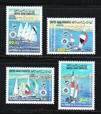 United Arab Emirates 1998 MNH Sc 599-602 ISAF World Sailing Championship