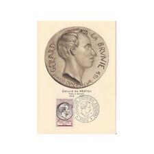 FRANCE PREMIER JOUR du 11/11/1955 Gérard de NERVAL Yvert N°1043