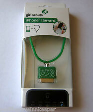 Girl Scout iPHONE/iPOD LANYARD Fits 3G 3GS 4 4S Trefoil Neck Carrier Rope GIFT