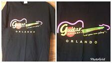 Rare Guitar Gallery Orlando  Art You Can Play shirt New Vintage Adult Men's Lrg