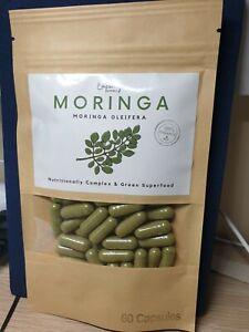 PREMIUM ORGANIC MORINGA CAPSULES – Moringa oleifera, herbal multi-vitamins