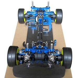 Alloy & Carbon TT01 Shaft Drive 1:10 4WD Racing Touring Car Chassis Frame Kit