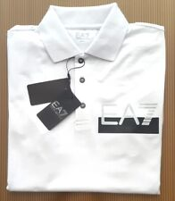 NEW  MENS EMPORIO ARMANI WHITE  POLO  T-SHIRT SIZE  L