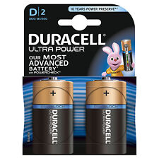 Duracell Ultra Power D LR20 Batteries | 2 Pack