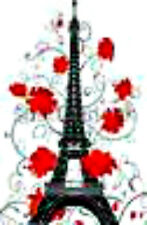 20 water slide nail art transfer decals effiel tower w red roses Trending