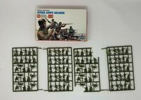 ESCI ERTL 50 WW2 AFRIKA CORPS SOLDIERS1/72 #206 comes with 48   extra soldiers