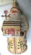 Patricia Breen Merry Christmas Santa, Gingerbread Hcb Exclusive, Glitter Bottom