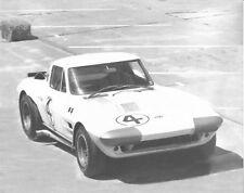 Vintage 8 X 10 1964 Sebring Corvette Grand Sport Penske