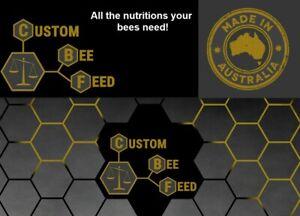Custom Bee Feed  Australian Made