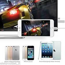CAVO ADATTATORE VIDEO LIGHTING USB HDMI HDTV TV PER APPLE IPHONE SE 5 5S 5C 6 6S