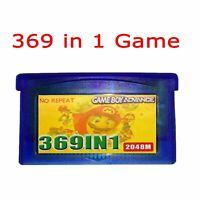 369 in 1 Game Boy Advance Cartridge Multicart for GBM NDS NDSL GBA NDS GBA SP