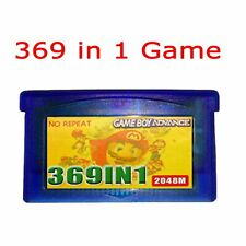 369 in 1 Game Boy Advance Cartridge Multicart for GBA NDS GBA SP GBM NDS NDSL