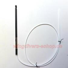 Antennenstab Automatik- /Motorantenne f. SAAB, schwarz verchromt