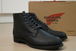 Red Wing 8063 Merchant Black Spitfire 6-inch Round Toe Boots Shoes