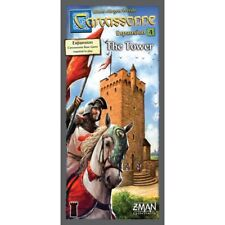 Carcassonne The Tower 4th Expansion (english 2017 Edition) Game