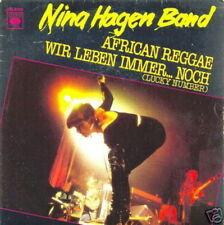 NINA HAGEN 45 TOURS FRANCE AFRICAN REGGAE LENE LOVICH