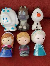 Disney Frozen 6 Pc. Bath Tub Pool Toy Set Olaf Elsa Anna Sven Kristoff Marshmall