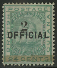 British Guiana  1881  Scott # 101  Mint - no Gum